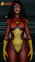 SPIDER-WOMAN mindless slave