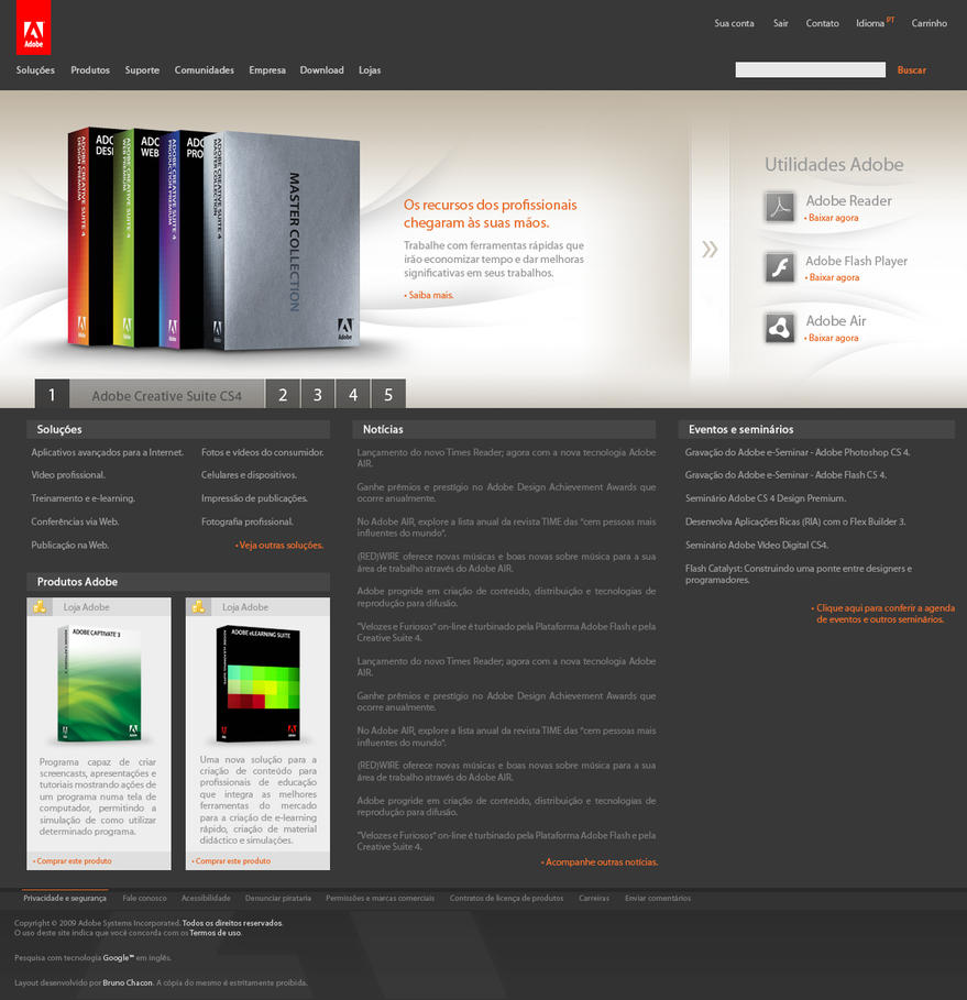 Adobe Layout - New Concept by bruninhoo
