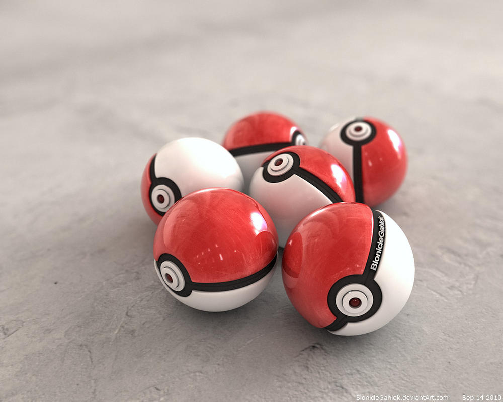 Pokeball new 2010 by BionicleGahlok