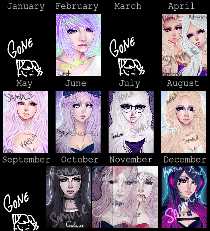 Art Summary 2014 by PosionWithin