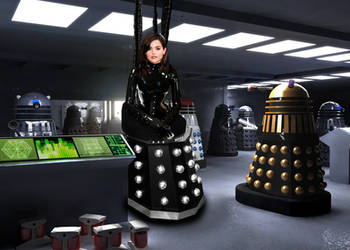 Clara Dalek Queen by FetishFakes