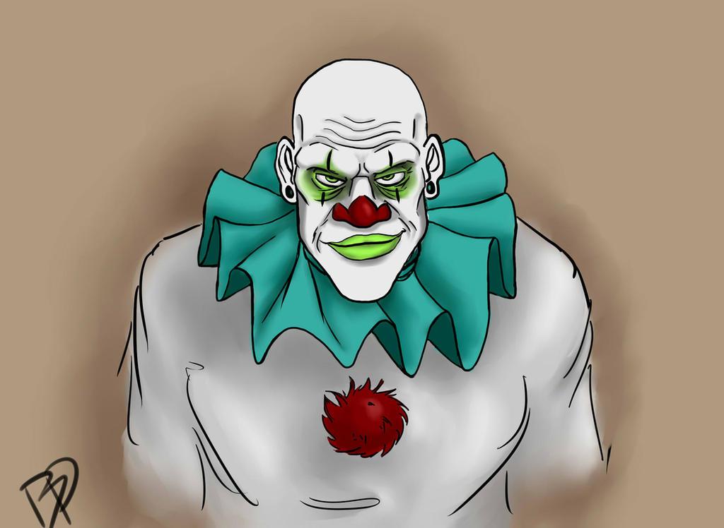 Creepy Clown by Bernadette888