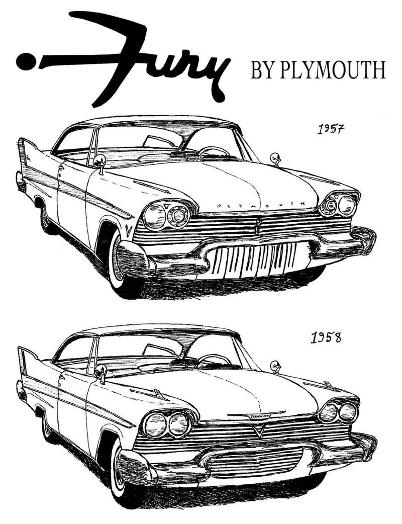 1950s plymouth fury