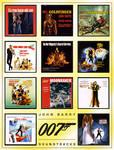 John Barry's James Bond Set