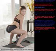 Sister's workout shorts by alon44