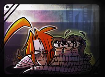 Happy Maggots by DollCreep