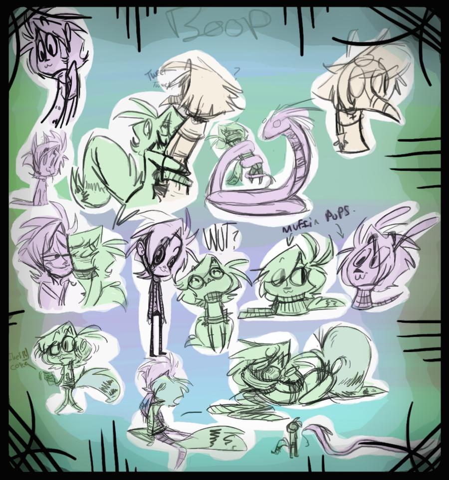 gunter-addi-doodles by DollCreep