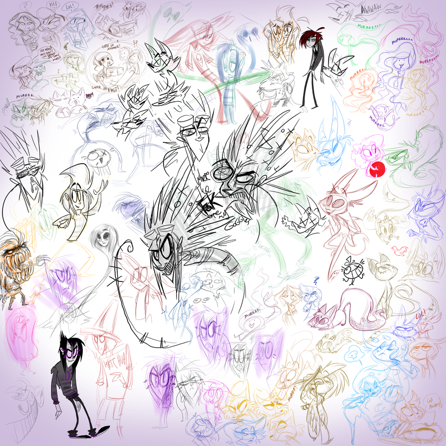 OC with deh vivz 10 by DollCreep