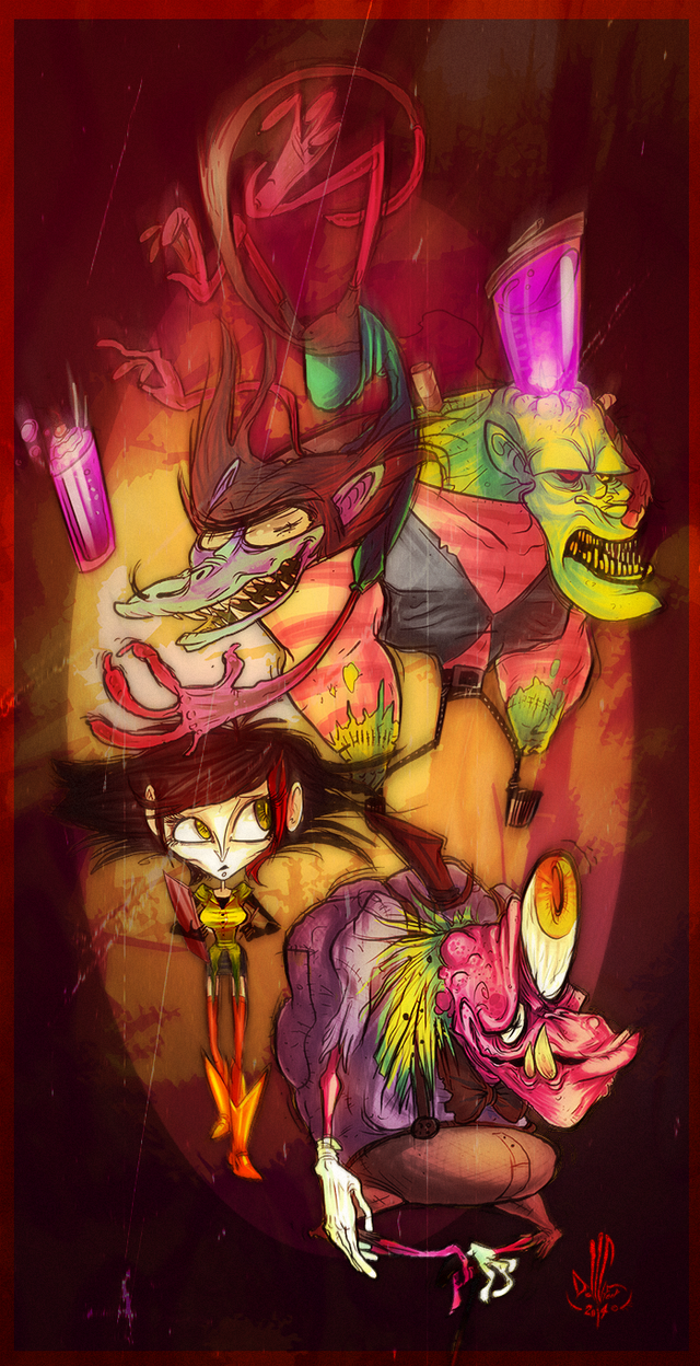 Blenderstein by DollCreep
