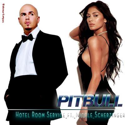 Pit Bull Hotel Room Loud Bass