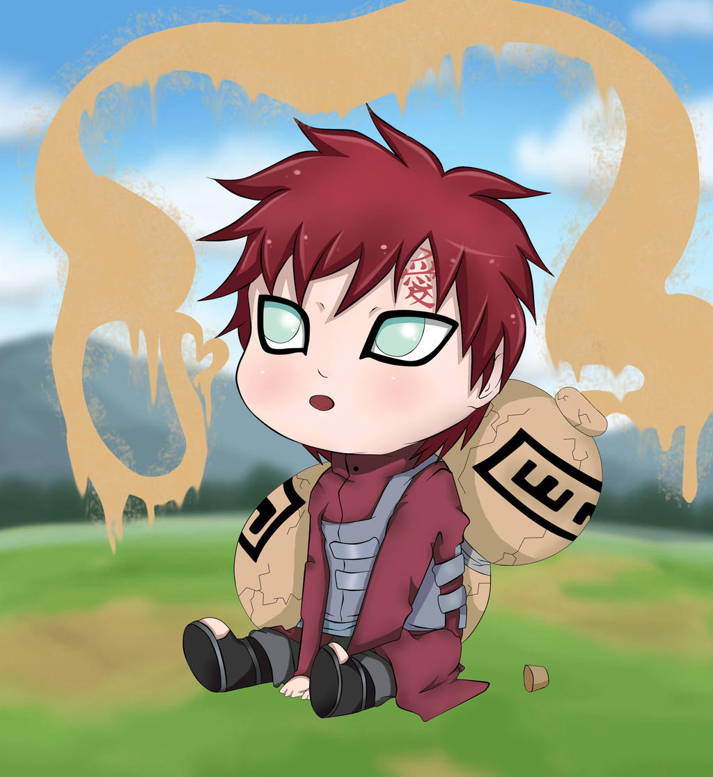 Sabaku No Gaara Chibi By MasuyoAraki On DeviantArt