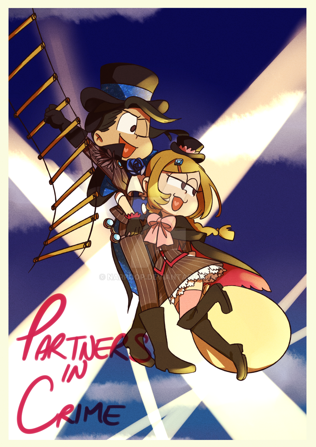 Partners In Crime by narpoop