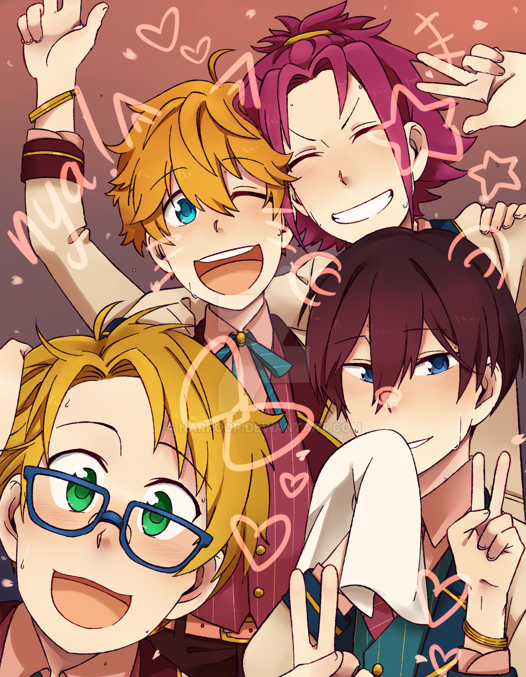 Trickstar Baby!! by narpoop