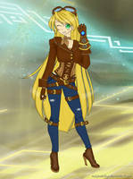 Genderbend Ezreal by xAlphaKittyx