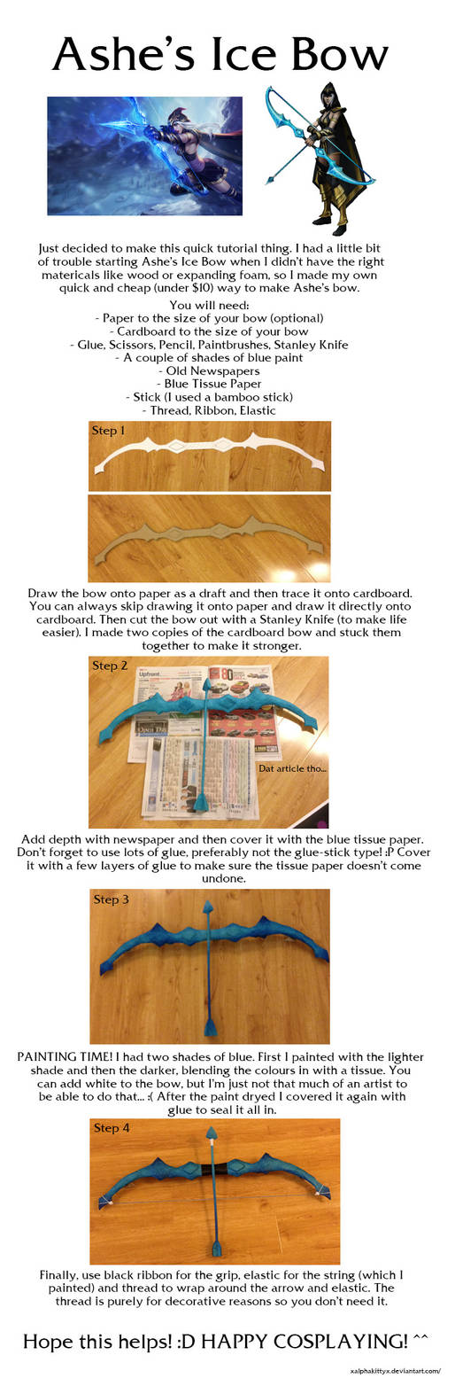 Ashe's Ice Bow Tutorial by xAlphaKittyx