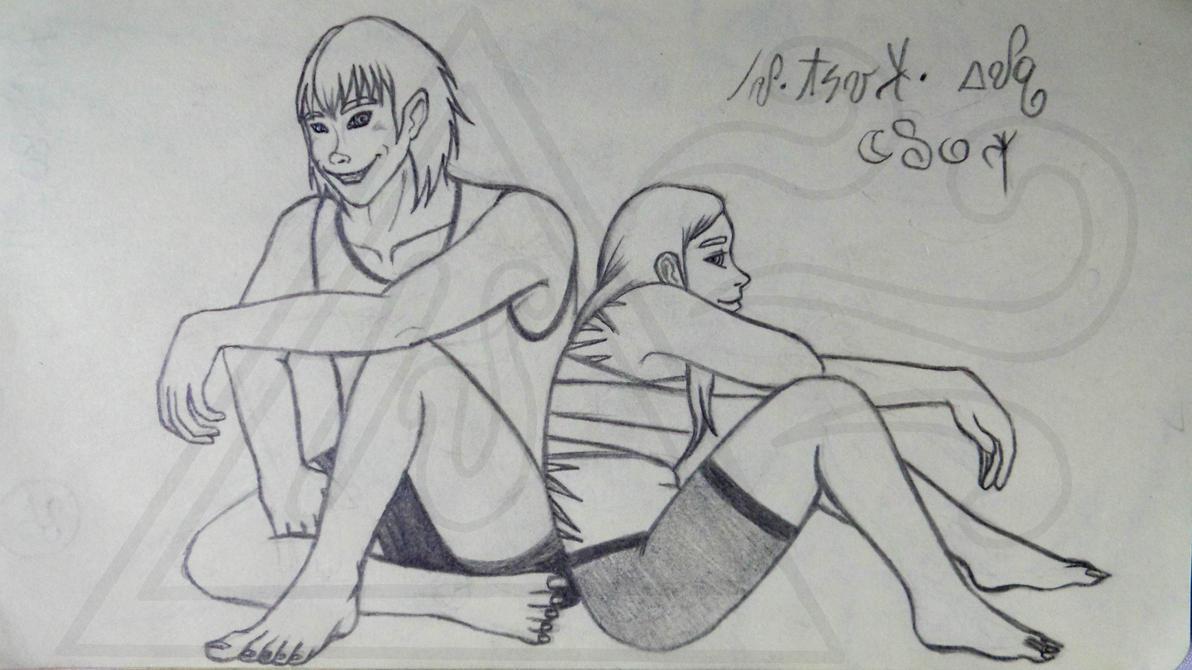 Mitsuki and Eloy by Seirykun