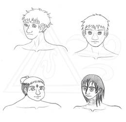 Character Creation Practice 1 by Seirykun
