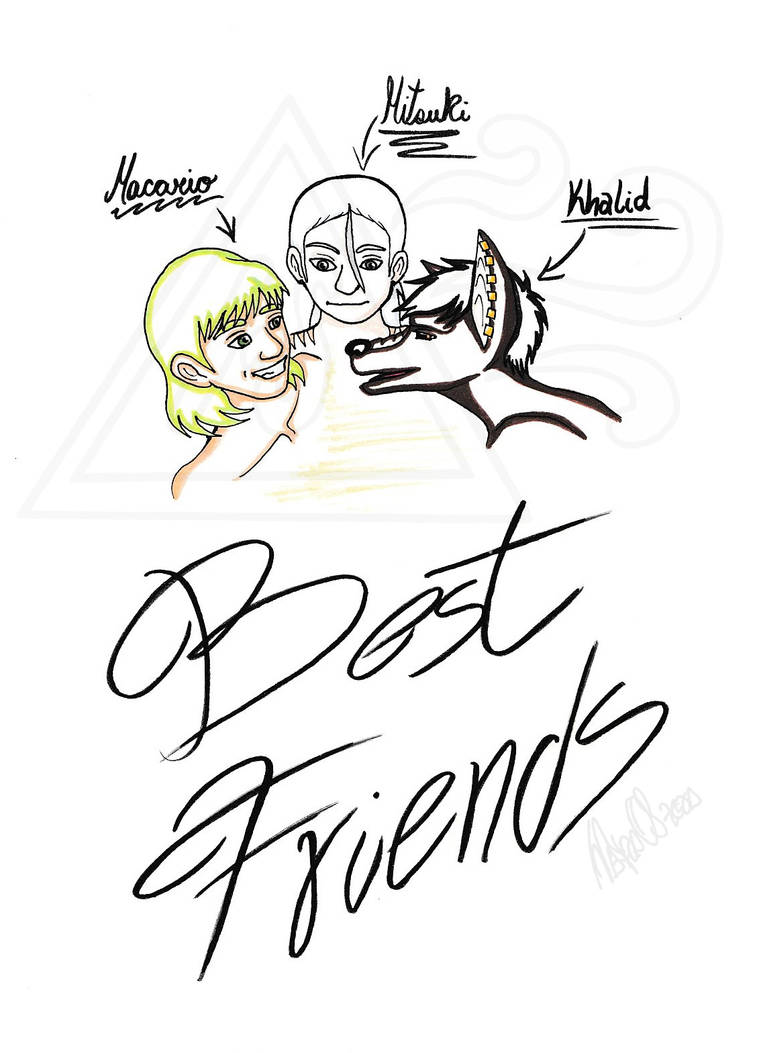 Best Friends Before Chilling Out by Seirykun