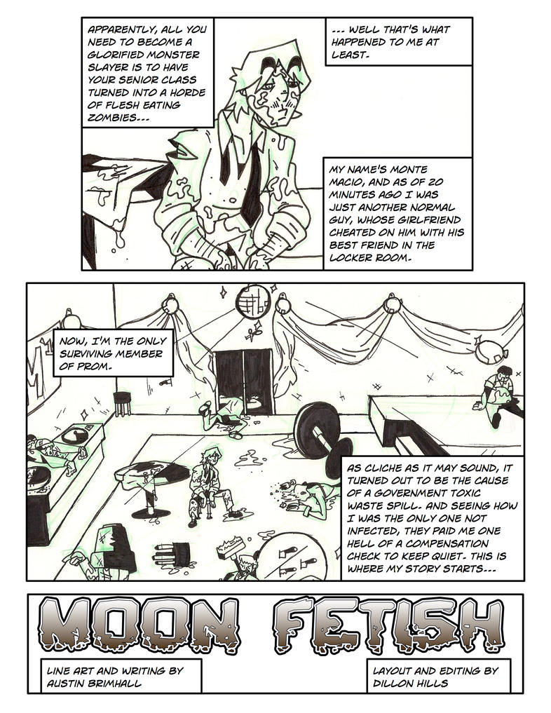 Moon Fetish rough cut page 1 by Trexasaurus