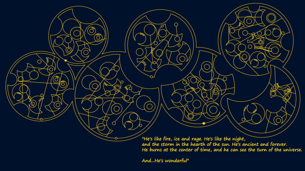 gallifreyan symbols wallpaper - photo #6