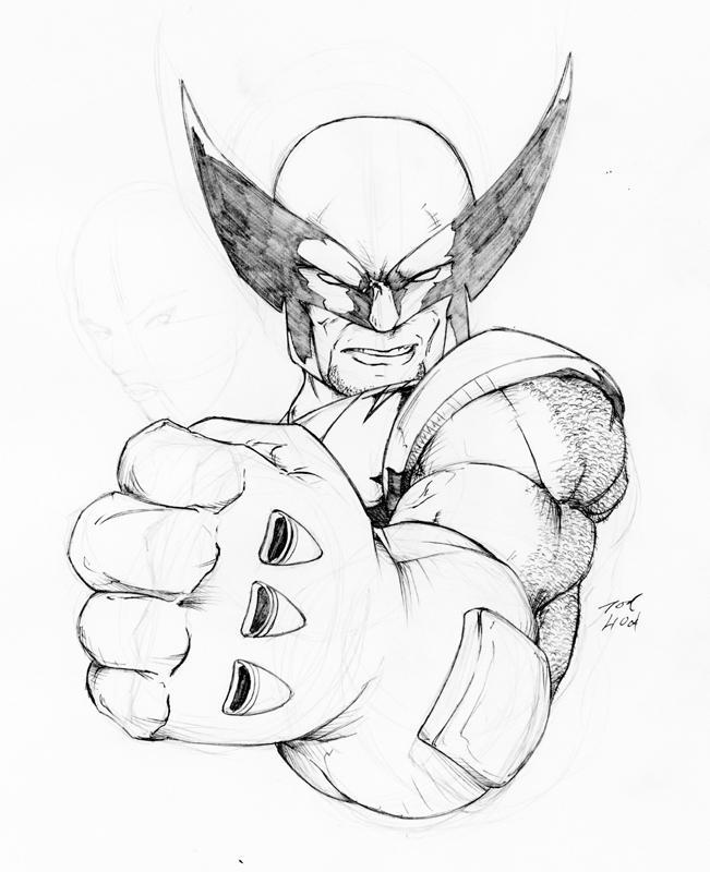 Wolverine Bub by IsamuDyson