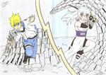 Round 2 - Chiyuki vs Koyuki by petit-fluffy-wolf