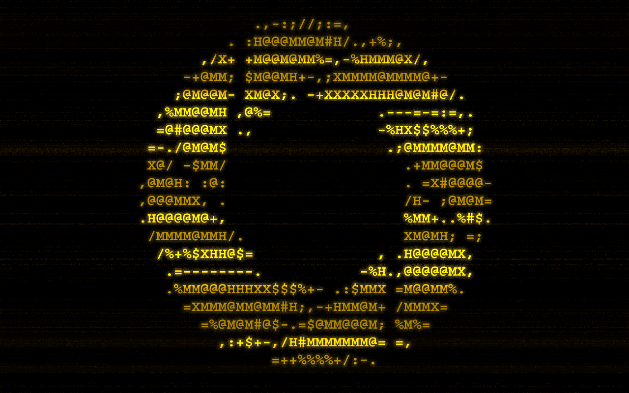 Ascii Aperture Laboratories | Collection 12+ Wallpapers