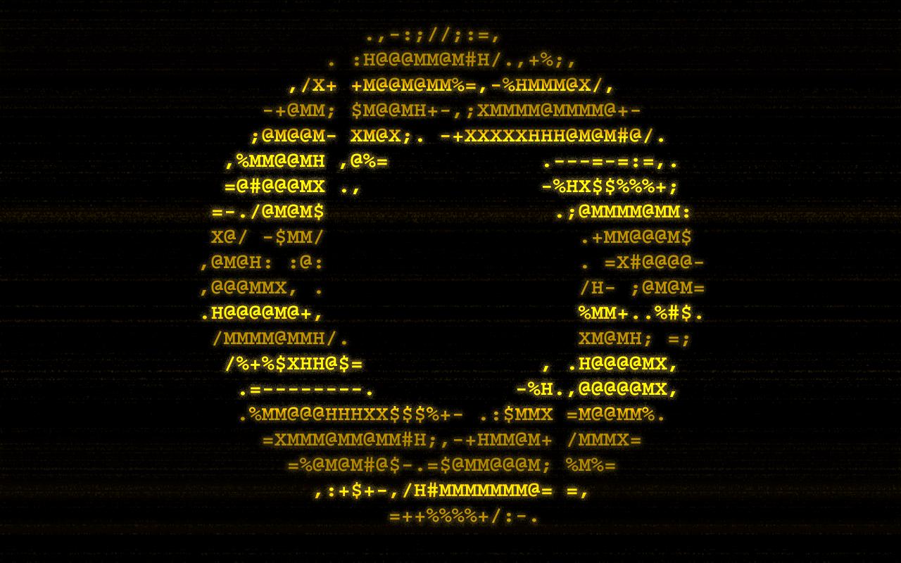 Ascii Wallpaper Hacked Wwwpicsbudcom