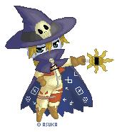 Wizardmon Pixel by theninjasquirrel