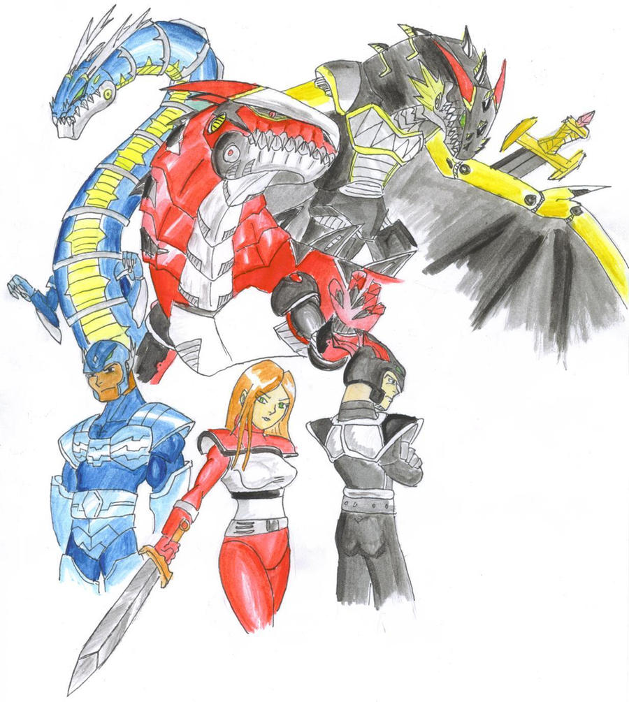 The Dragon Knights. by ChaosGhidorah