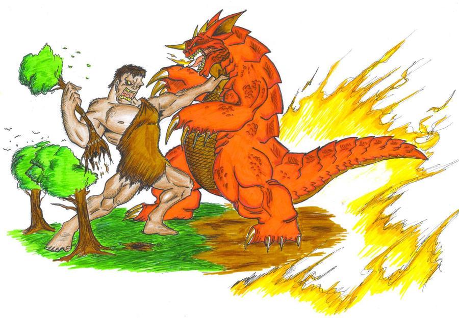 Frankestein vs Baragon. by ChaosGhidorah
