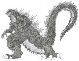 Legendary Monster Godzilla. by ChaosGhidorah