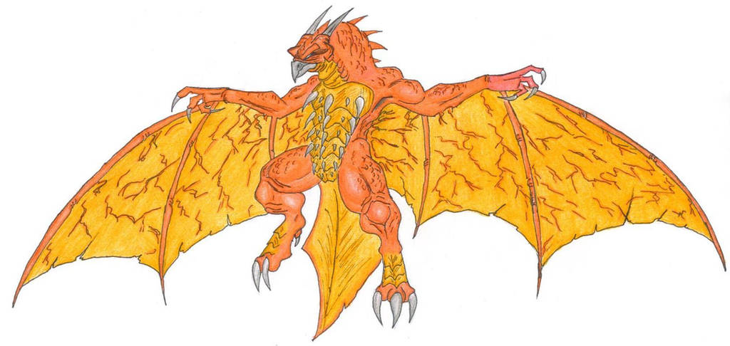 Legendary Monster Rodan. by ChaosGhidorah
