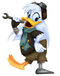 Della Duck in KH style