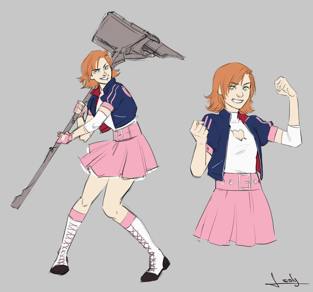Nora Valkyrie by lesly-oh on DeviantArt