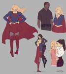 Kara *adorkable* Danvers