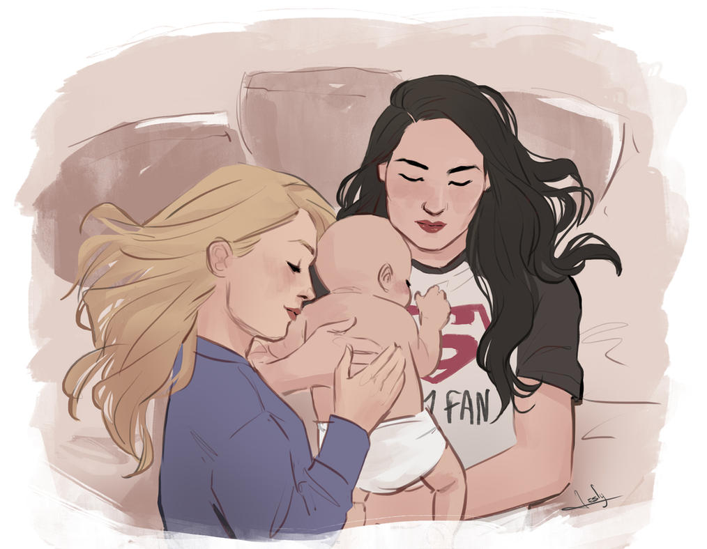 SuperCorp + baby by lesly-oh