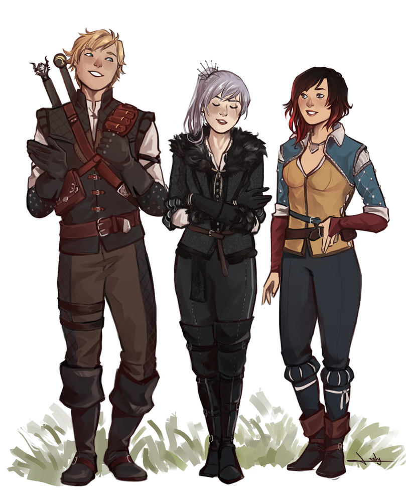 Witcher!RWBY by lesly-oh