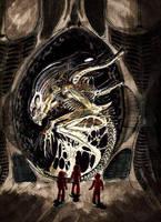 Alien Jockey by cinemamind