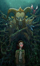 Ofelia y El Fauno by cinemamind