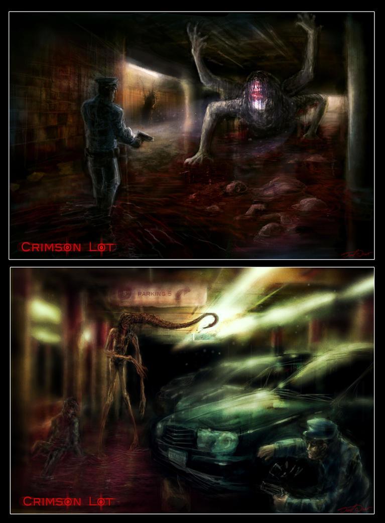 Crimson Lot by cinemamind
