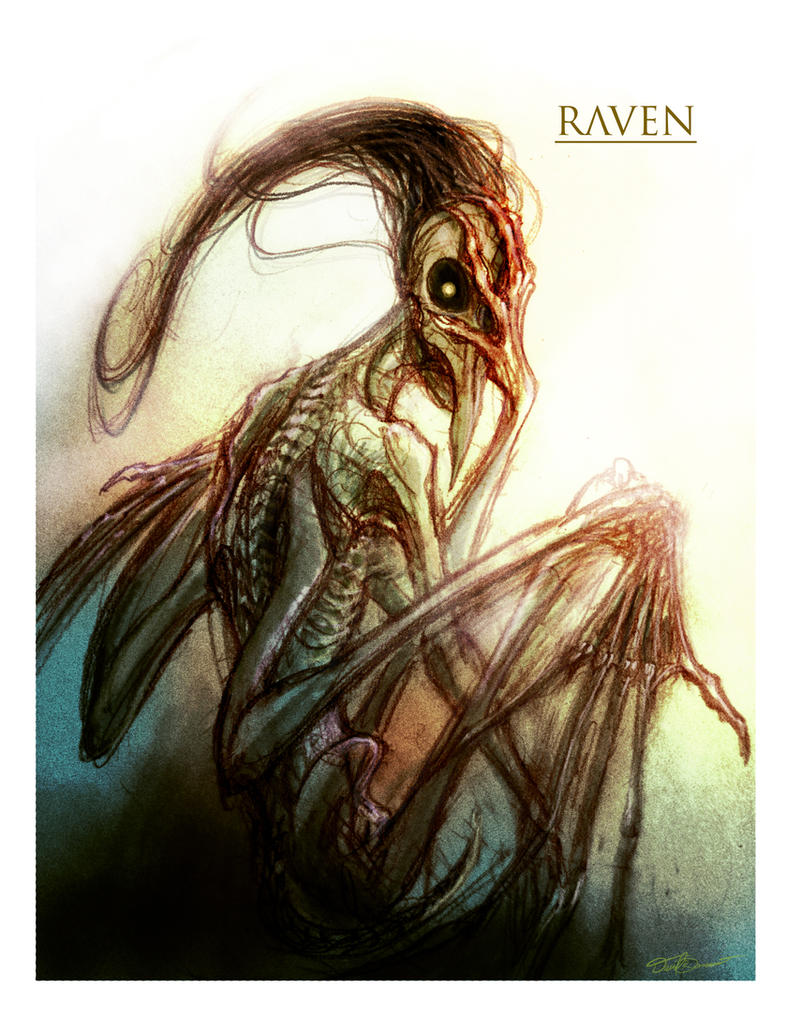 Raven by cinemamind