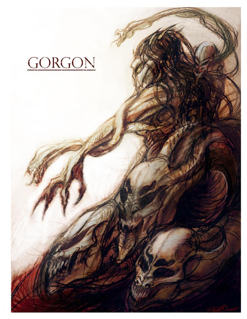 Gorgon by cinemamind
