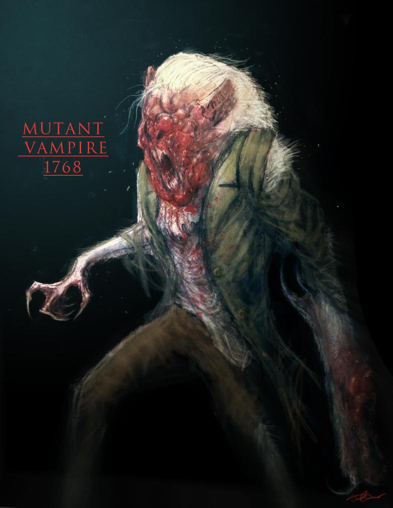 Mutant Vampire 1768 by cinemamind