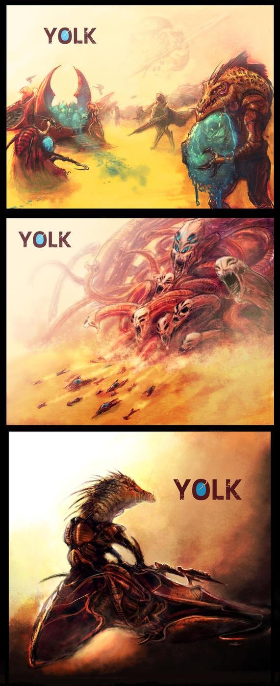 Yolk concept art by cinemamind