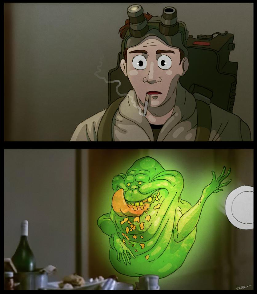 Disgusting blob. by cinemamind