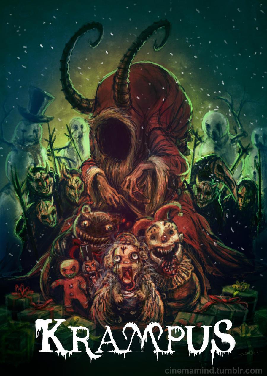 Krampus fan poster by cinemamind on deviantart - Krampus wallpaper ...