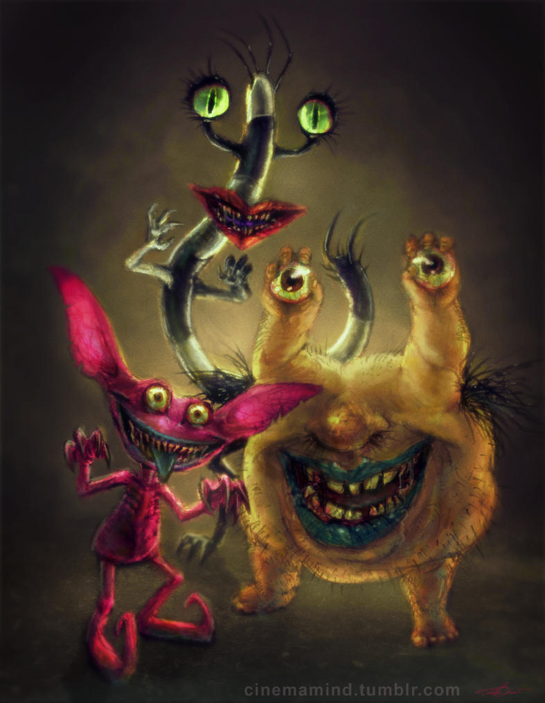 AAAHH!!! Real Monsters by cinemamind