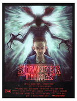 Stranger Things alt poster by cinemamind