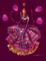 Candy Monster Lady 1 by cinemamind